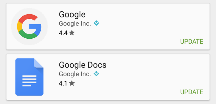 Google Is Rolling Out Compressed Numerical Star Ratings To The Play Store On Android
