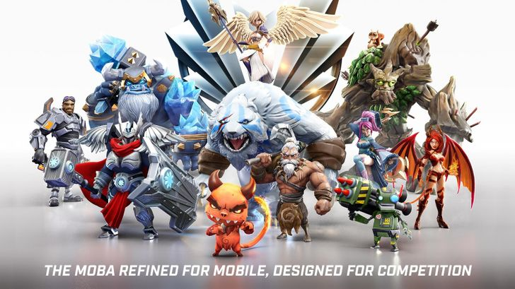 Fast-Paced MOBA Call of Champions Now Doing Battle On Android