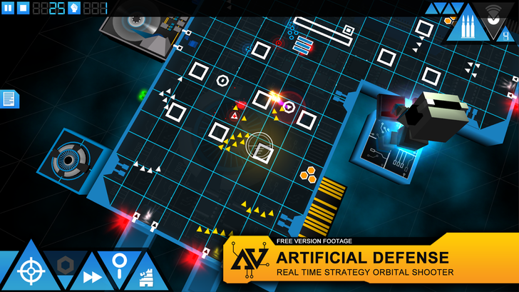 Artificial Defense Is Part Real-Time Strategy And Part Tower Defense Inside A Computer