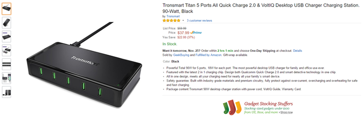 [Deal Alert] Save A Ton Of Money On Basically All Tronsmart Chargers With These Coupon Codes—Valid In The US, Canada, The UK, Spain, And France