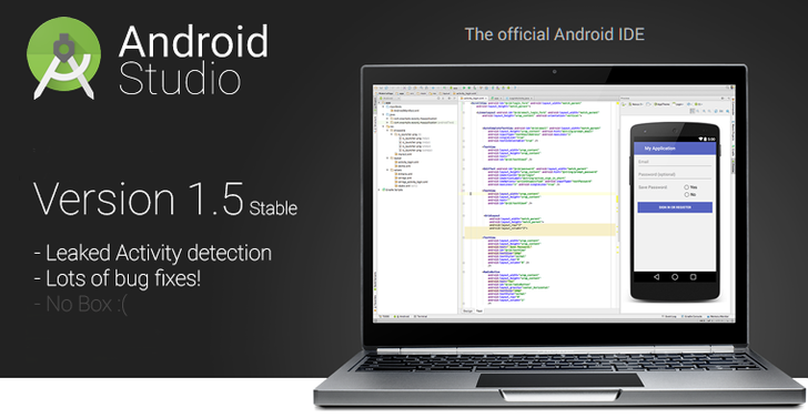 Android Studio v1.5 Hits Stable Channel With Improved Leak Checking And Some Major Bug Fixes