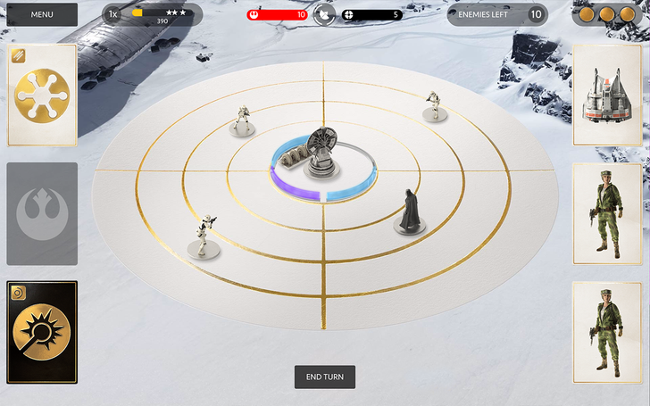 EA Releases Star Wars Battlefront Companion App, Complete With 'Base Command' Strategy Card Game