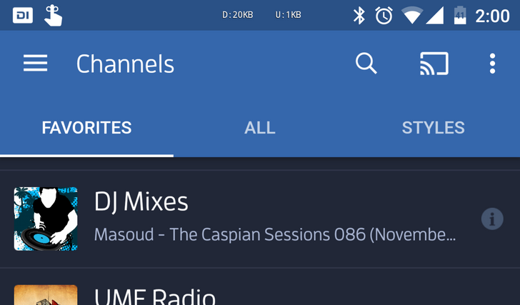Digitally Imported Radio (DI.FM) Gets Google Cast Support In Latest Update