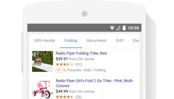 Google Refines The Google Shopping Experience On Mobile With More Tabs And Less Loading