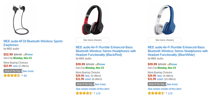 [Who Wants A Deal Alert?] MEE Bluetooth Headphones Hit Their Lowest Prices On Amazon Yet As Part Of Today's Deal Of The Day Sale