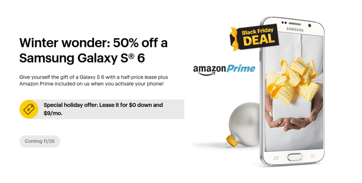 Sprint Will Give You A Year Of Amazon Prime If You Activate Certain Phones On Black Friday, Toss In A Free 24-Inch TV With The Purchase Of An LG G4, And More