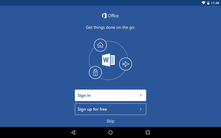 Latest Microsoft Office For Android Updates Bring Easier Sign-In, Reduced App Size, Cloud Font Support, And More