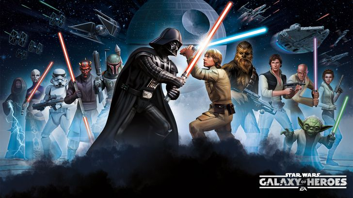RPG Battle Game 'Star Wars: Galaxy of Heroes' Is Out With Over 60 Collectible Characters