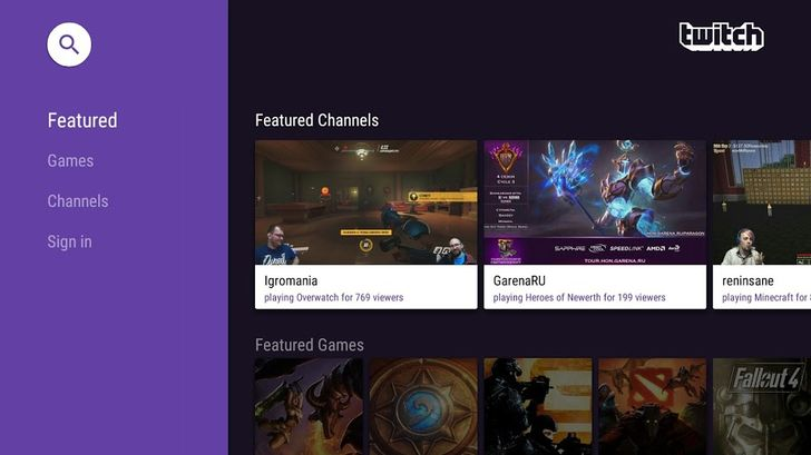 Twitch v4.5.1 Adds Support For Android TV [APK Download]