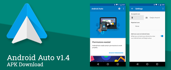 Android Auto v1.4 Cleans Up The Companion App Interface And Adds Granular Control For Previously Connected Cars [APK Download]