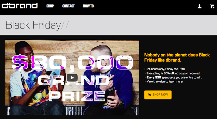 [Deal Alert] dbrand's Skins Are 30% Off On Black Friday With A Chance To Win A Trip To Canada And 2016 NBA All-Star Game Ticket