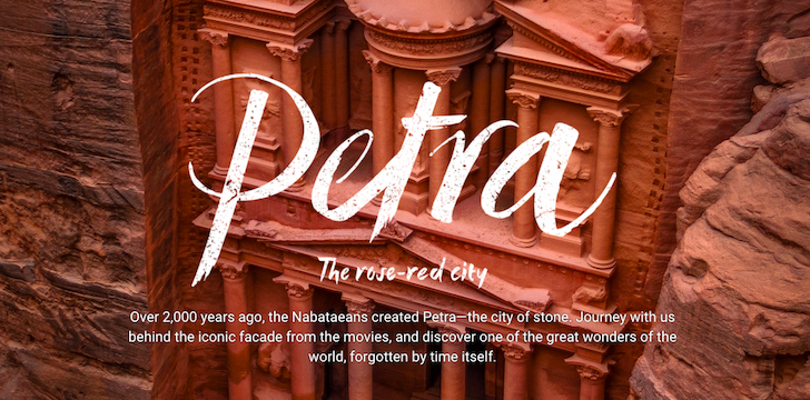 Google Adds 30 Historical And Touristic Jordanian Sites To Street View, Petra And Jerash Included