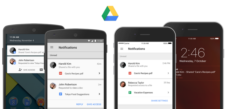 Google Drive Updated With Shared File Notifications, Requesting/Granting Access, And More [APK Download]