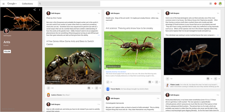 Google+ Rolls Out Updates To Web Redesign, Including Three Column View And Replying To Comments In Context