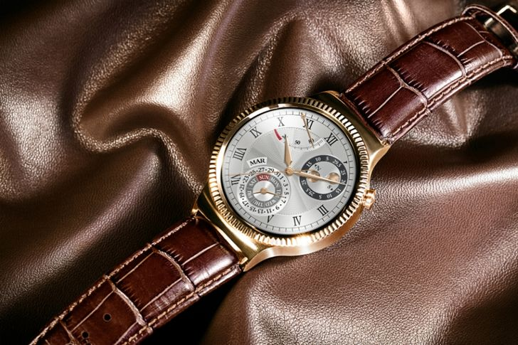 Huawei Reveals Rose Gold Option For The Huawei Watch
