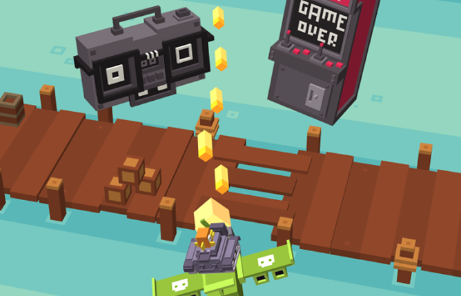 Crossy Road Developers Release 'Shooty Skies,' A Casual Free-To-Play Take On Shoot-Em-Ups