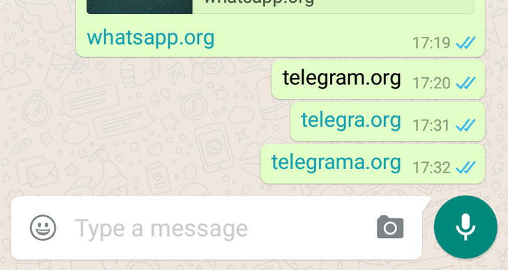[Update: Block has been lifted] WhatsApp Is Blocking Telegram Links In Its Android App