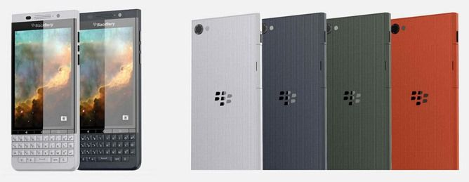 Renders Of A Rumored BlackBerry 'Vienna' Show The Company's Second Android Phone With A Fixed QWERTY Keyboard