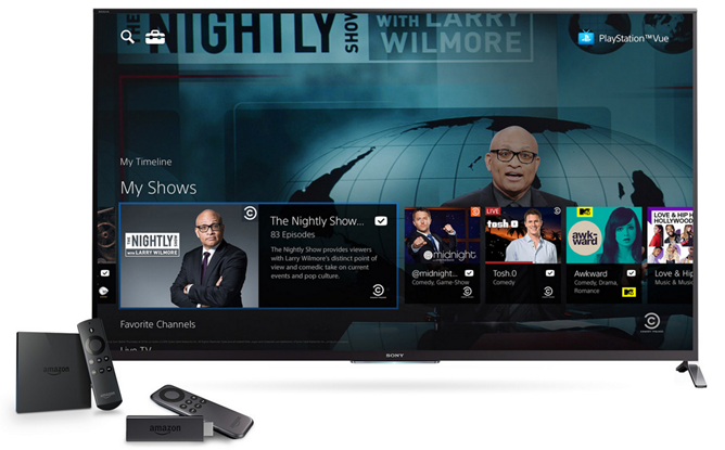 Sony Announces Amazon Fire TV and Fire TV Stick Support For Its PlayStation Vue TV Service, Chromecast Support Coming Soon