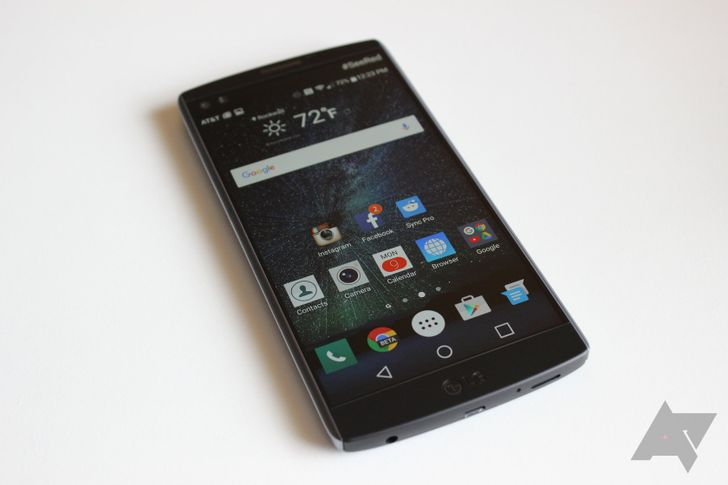 LG V10 on T-Mobile updated to Android 7.0 Nougat