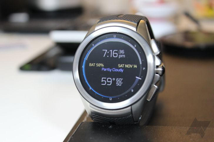 LG Watch Urbane 2nd Edition on AT&T becomes last device to receive Android Wear 2.0