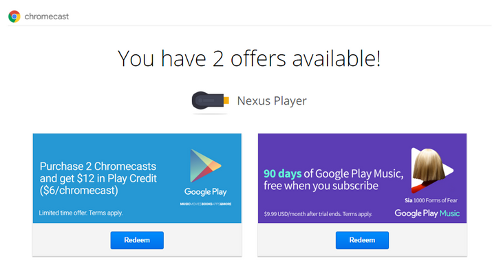 [Deal Alert] Google Offers Another $6 In Free Play Store Credit For Each Chromecast Or Android TV Device You Own