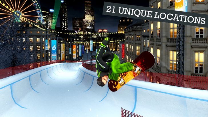 Snowboard Party 2 Now Dropping Sick Tricks In The Play Store