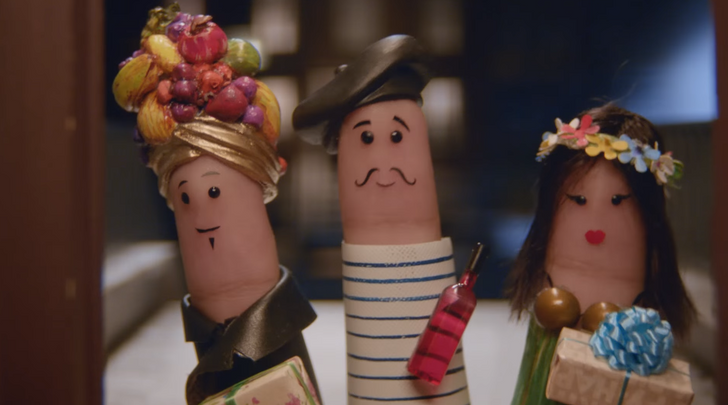 New Android Ad Gets Two Thumbs Up, Plus Some More Fingers Dressed Like People