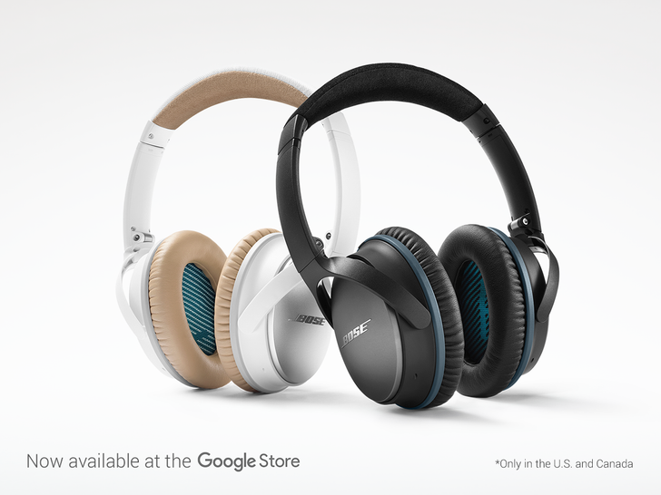 Google Starts Selling Bose Headphones In The Google Store