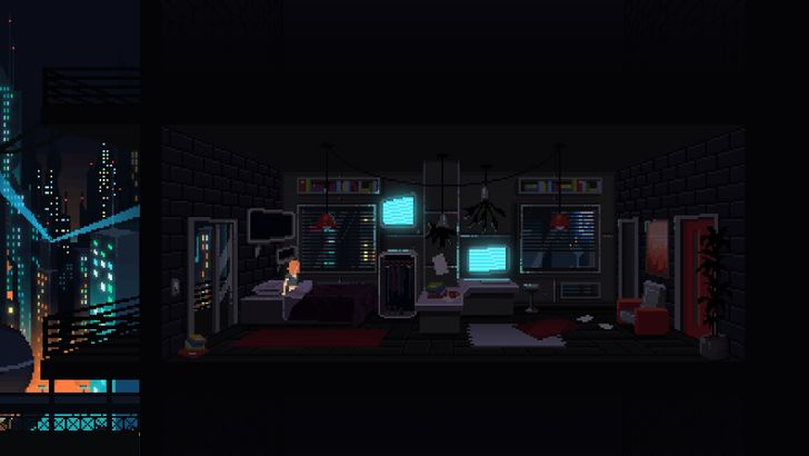 Peter Moorhead's Murder Is A Cyberpunk Short Story Told As A Point-And-Click Adventure, Now In The Play Store For $1.49