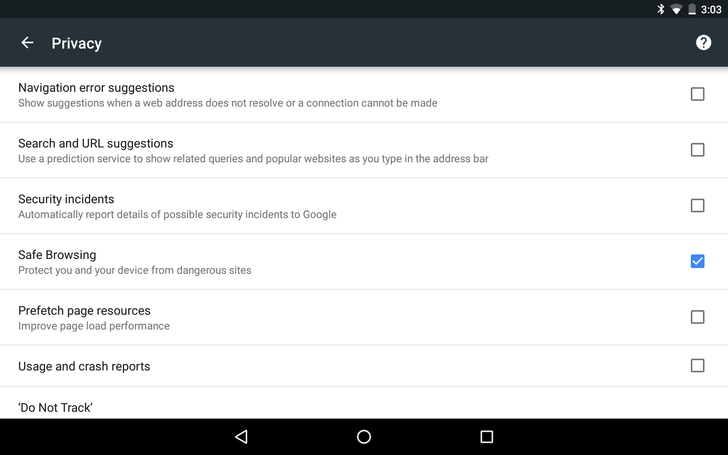 Google Has Brought Safe Browsing To Android, Active Since Chrome Version 46 And Google Play Services 8.1