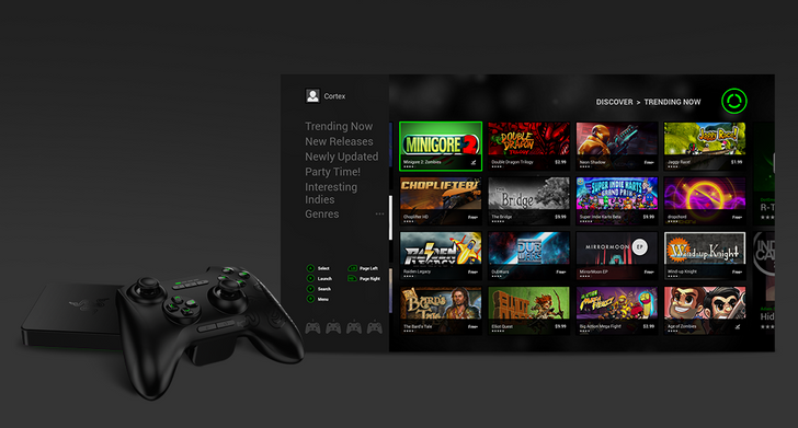 Razer Resurrects The OUYA Store as 'Cortex' On The Forge TV [Update]