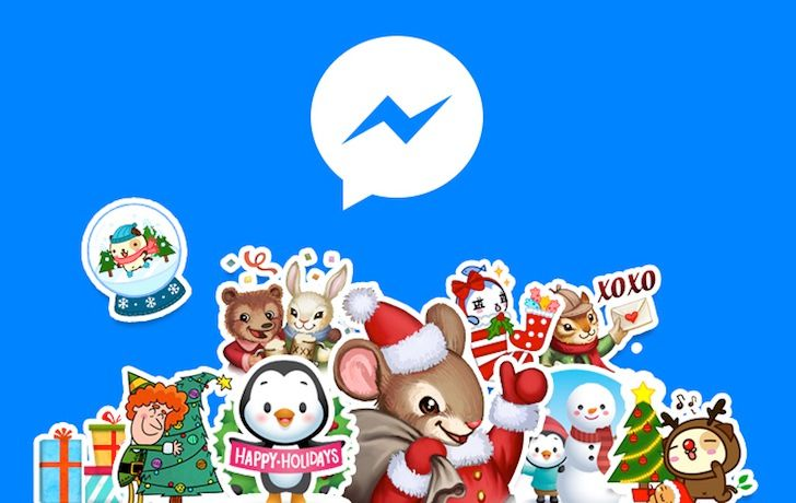 Facebook Messenger Gets Photo Magic Sharing, Chat Customizations, And Some Festive Decorations