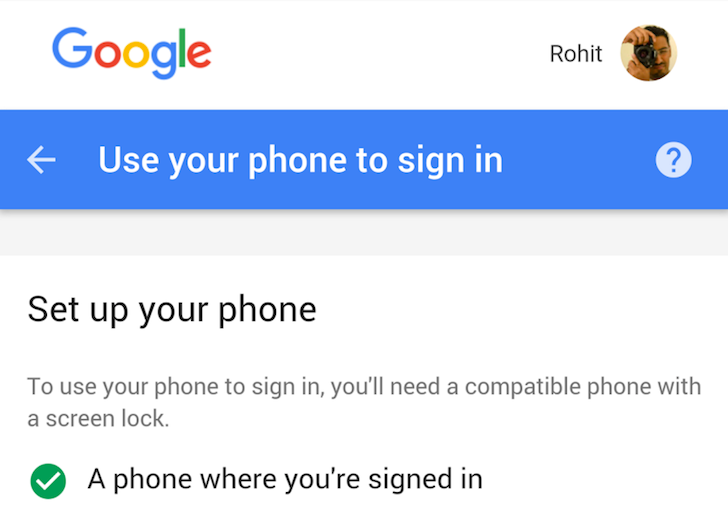[Update: Google Confirms] Google Appears To Be Testing A New Way To Log Into Your Account On Other Devices With Just Your Phone (No Password Needed)