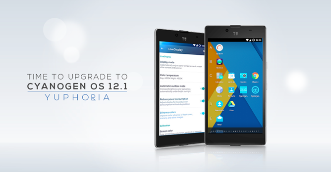 Yu Announces Cyanogen OS 12.1 (Android 5.1) Over-The-Air Update For The Yuphoria