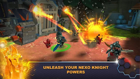 LEGO's Nexo Knights Franchise Makes Its Play Store Debut, Blending Building Toys With Video Games
