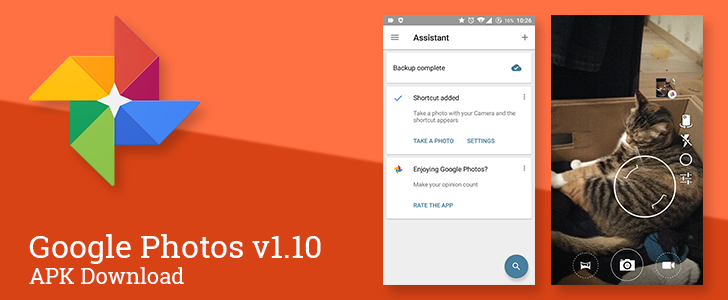 Photos v1.10 Adds An Optional Floating Shortcut To Camera Apps For Some Users [APK Download]