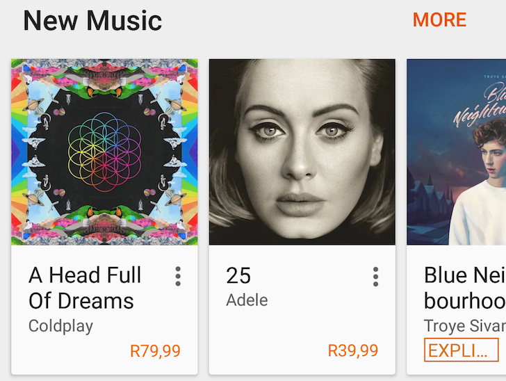 Google Play Music Blasts Its Tunes To South Africa And Serbia