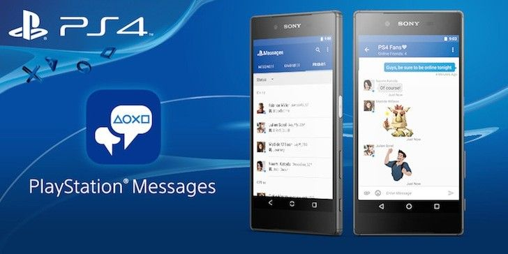 Sony Releases PlayStation Messages To The Play Store, Decouples It From The PlayStation App