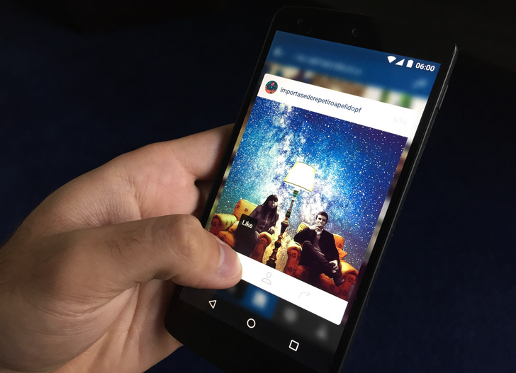 "[Update: Back Again] Instagram Now Lets You ""3D Touch"" Photos On Android"