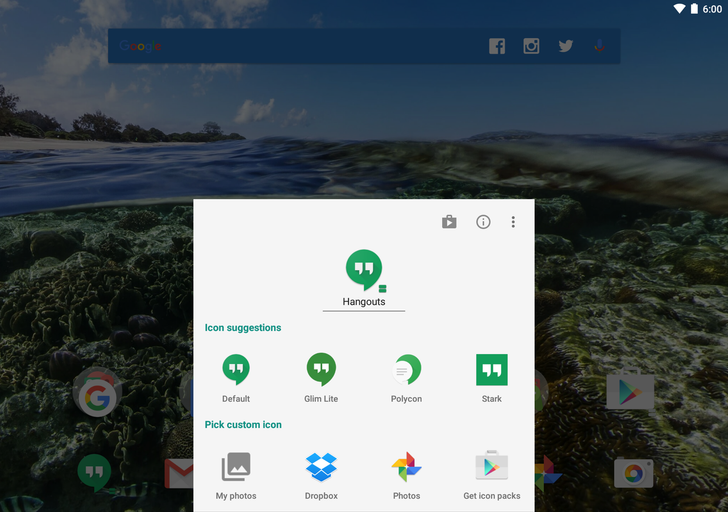Action Launcher 3 Updated With Improved Icon Editing, 'Smartsize' Icon Scaling, And More