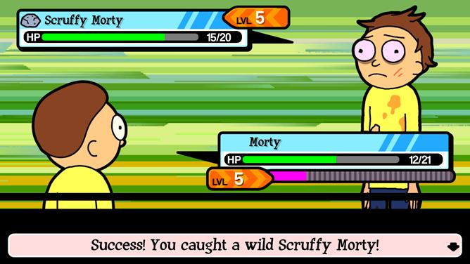 [Wubba-Lubba-Dub-Dub] Pocket Mortys Takes Adult Swim's Rick & Morty To The Pokemon Dimension