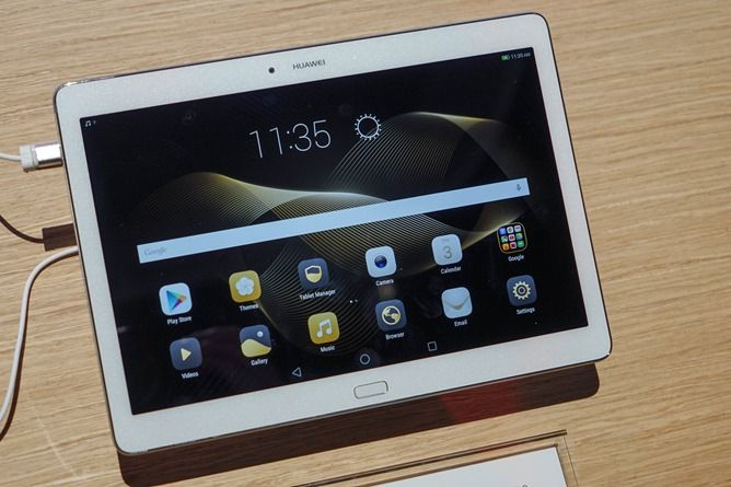 [CES 2016] Huawei MediaPad M2 10.0 Hands-On (Video)