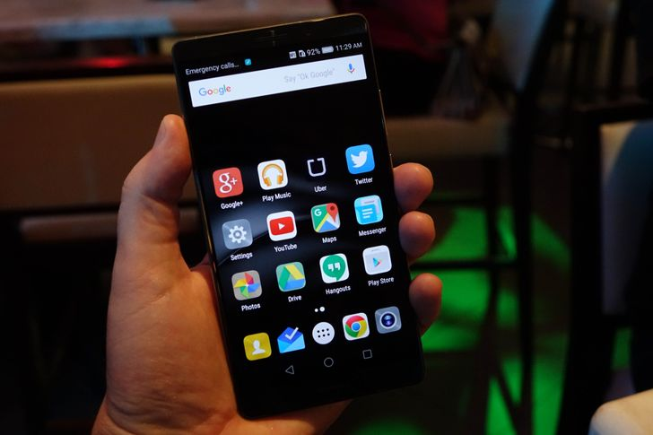 Huawei Mate 8 First Impressions: Big, Fast, And Powerful, But A UI Layer Only A Mother Could Love