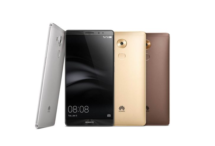 Huawei Announces Mate 8 With A 6-Inch 1080p Display, Android 6.0, And A 4000mAh Battery