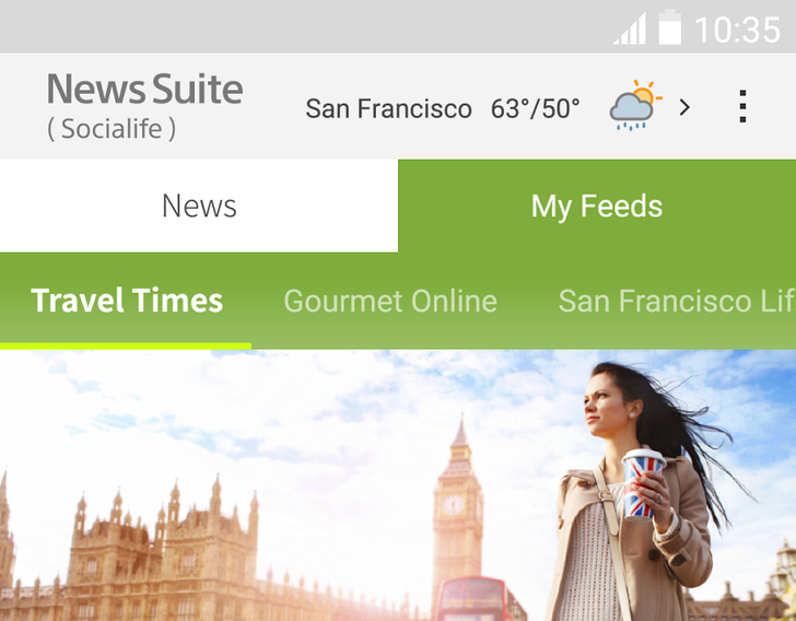 Sony Renames Socialife App To 'News Suite' As Part Of A Big Update And Redesign
