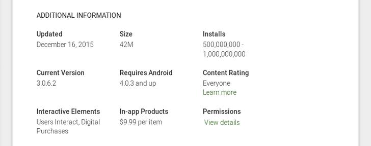 Dropbox Android App Passes 500 Million Installs On Google Play