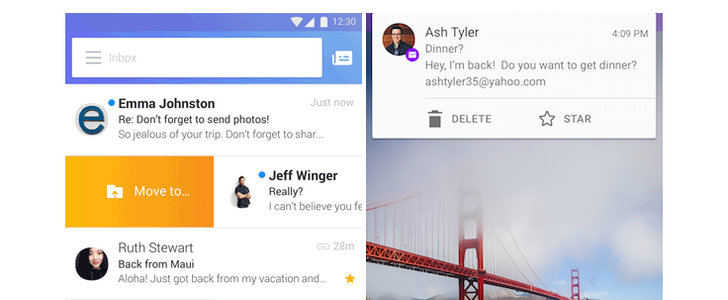 Yahoo Mail Android App Update Lets You Customize Swipes, Take Action On Notifications, And More