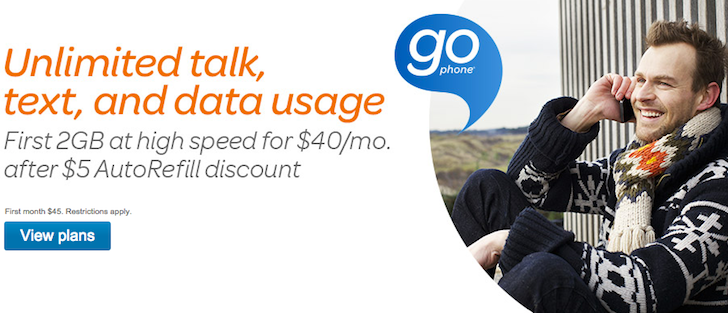 AT&T Bumps Up The 4G Data Allocation On Its Prepaid GoPhone Plans