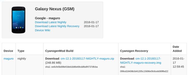 The Galaxy Nexus, Long Abandoned By Google, Now Enjoys A Taste Of Lollipop In CyanogenMod 12.1 Nightly
